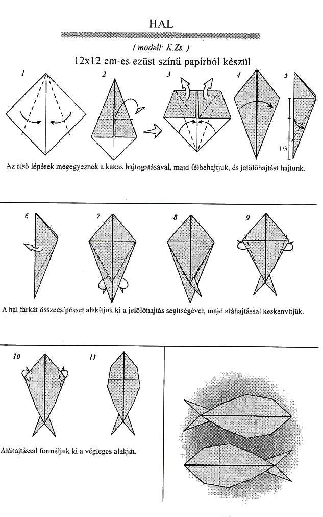 Origami hal